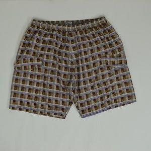 Phat Farm Big & Tall 4X Brown   Short Polyester So